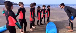 Hendaye Bidassoa Surf Club - cours enfants