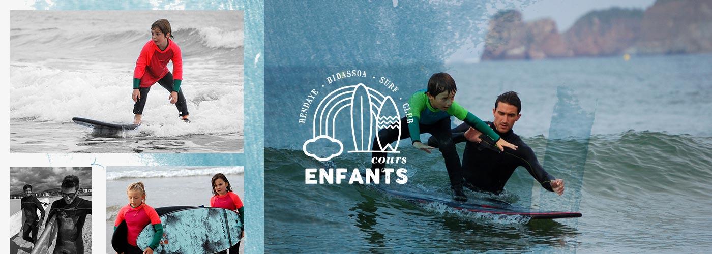 HBSC - reprise cours surf enfants
