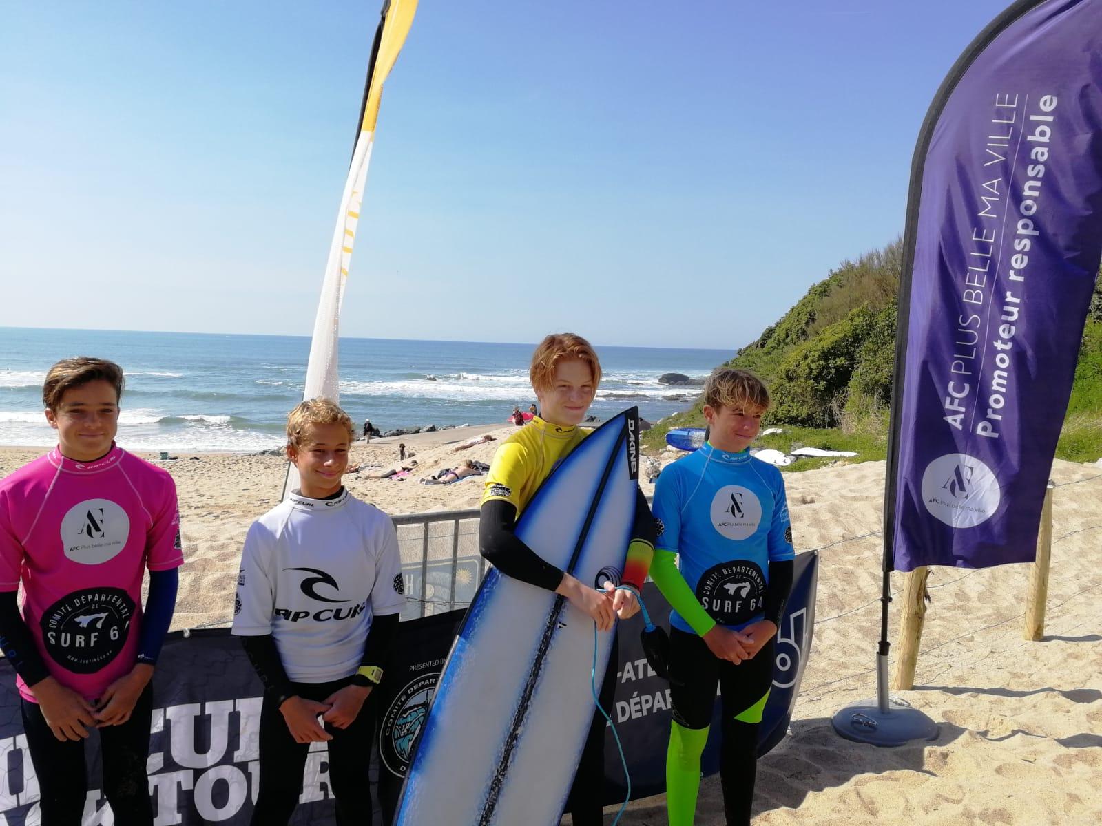 Coupe Espoir Surf 64 - Matéo Madina
