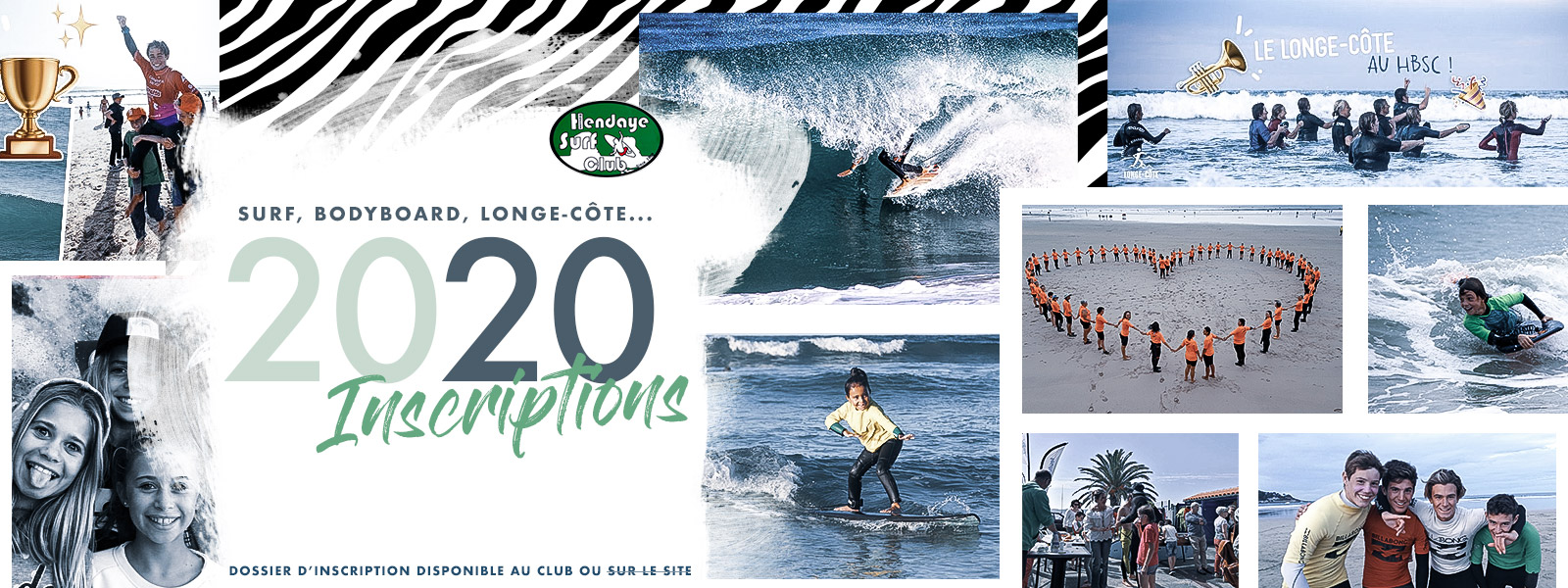 Hendaye Surf : inscription 2020