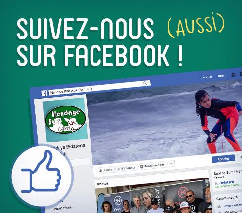 Hendaye Bidassoa Surf Club lien vers Facebook