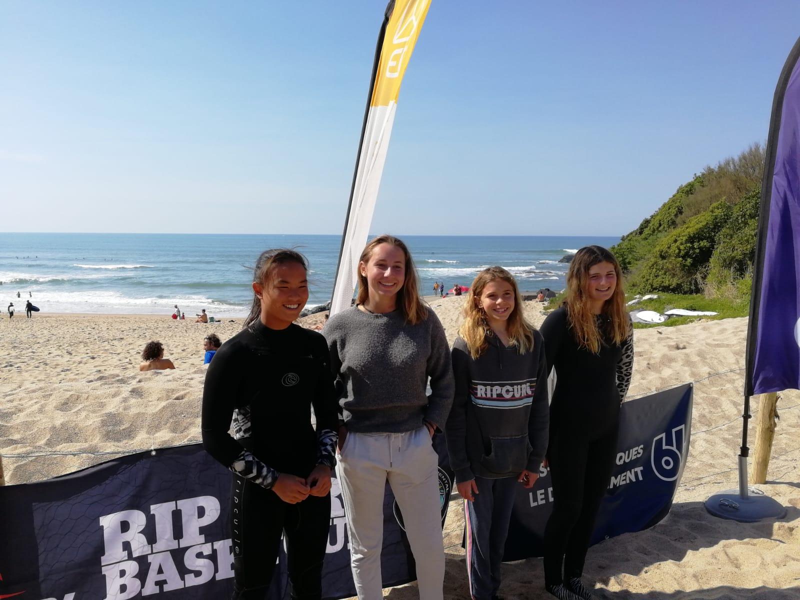 Coupe Espoir Surf 64 - Elisa Cazenave Maryam Oyarzabal