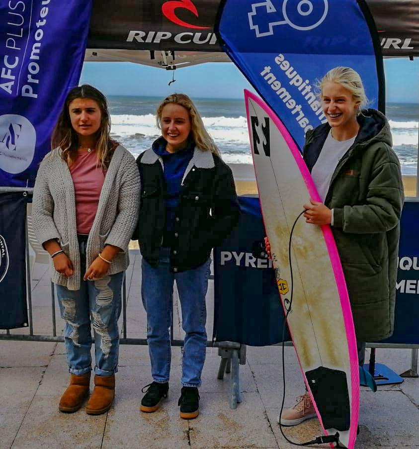 Coupe Espoir Surf 64 - Elisa Cazenave