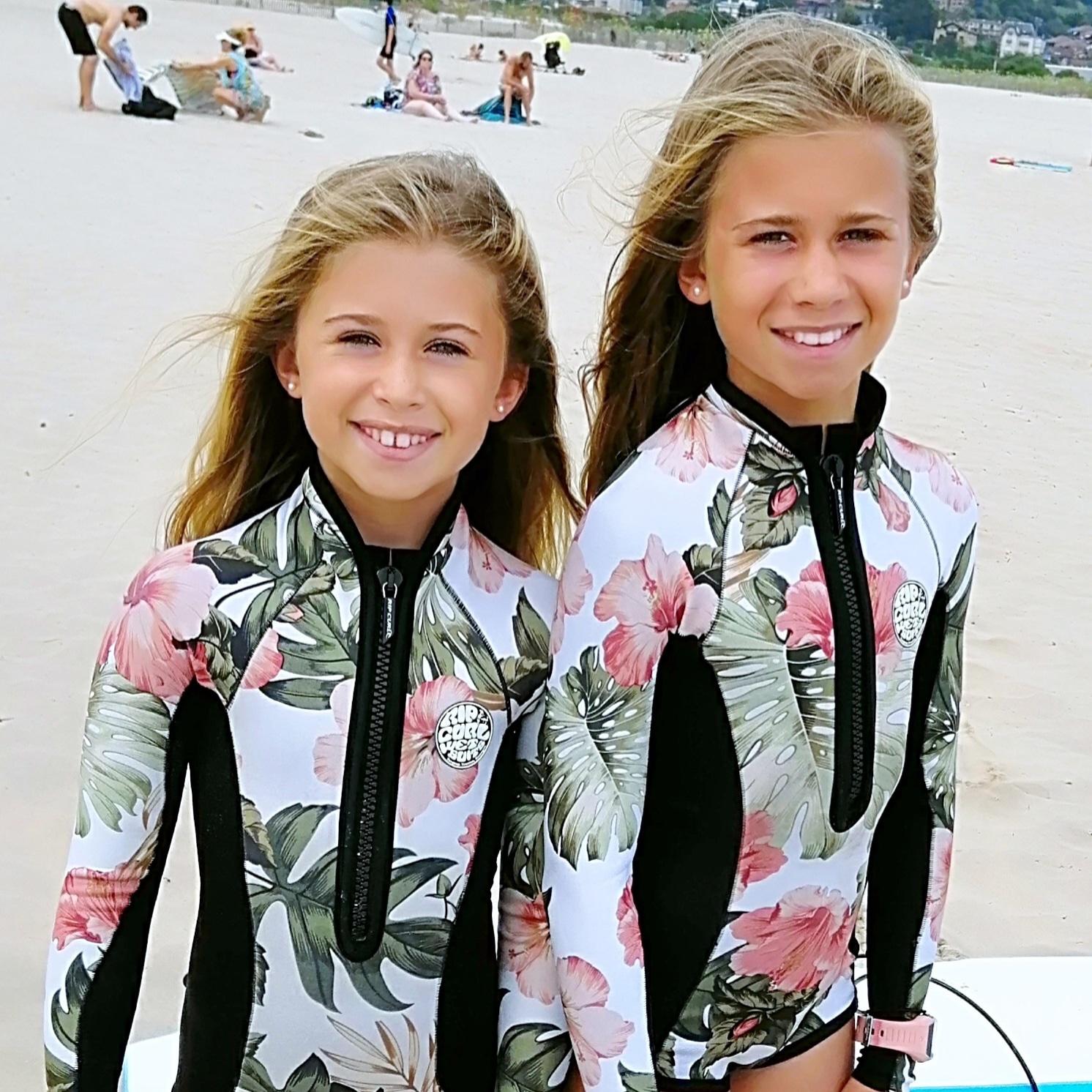 Hendaye Bidassoa Surf Club Clara et Lily Hirigoyen